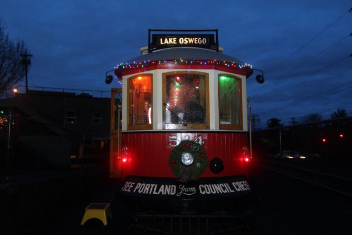 Every year, the trolley hosts special holiday events. Their most popular event happens around Christmas time; you can book a seat to watch the Christmas Ship parade on the river from the trolley.