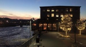 This Restaurant In Vermont Used To Be A Textile Mill And You'll Want To Visit