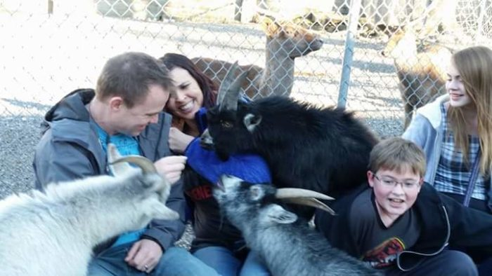. . . just be careful you don't get swarmed in the petting area.