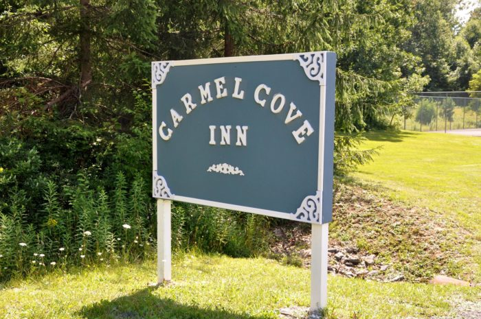 Located in Swanton, you'll find the lovely Carmel Cove Inn.