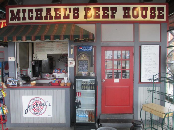 Michael's Beef House has been an integral part of the market since 1968.