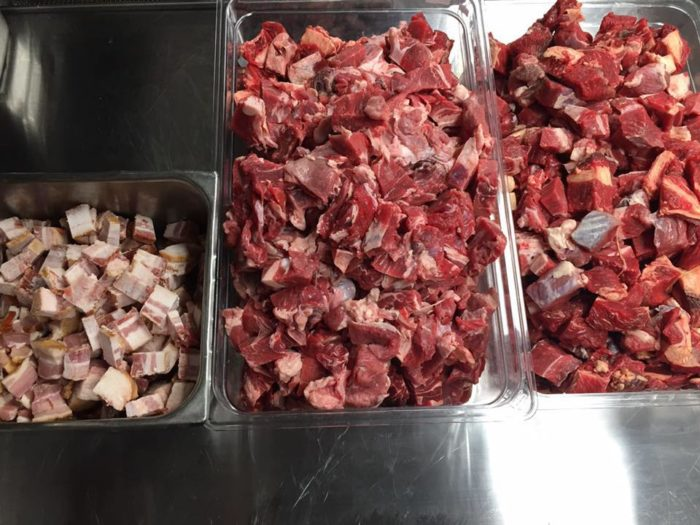 Did we mention that their meat is hormone and steroid free, made with locally sourced Angus beef, ground in-house daily??
