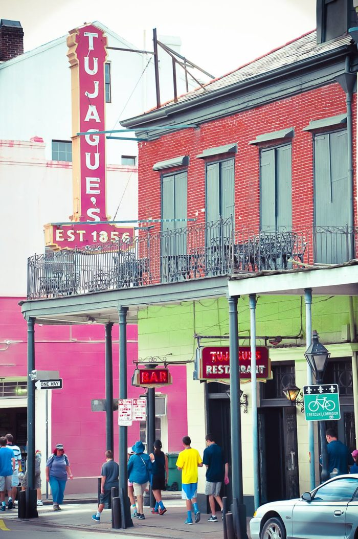 2) Tujague's, 823 Decatur St. – 1856