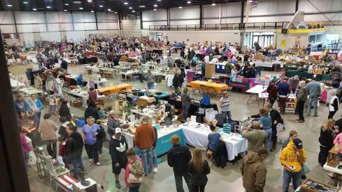 Held in the North Dakota State Fairgrounds in Minot, it allows for a huge gathering.