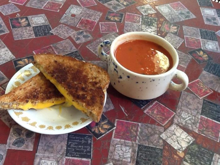 If you're looking for lunch, The Soup Shack is a great bet.
