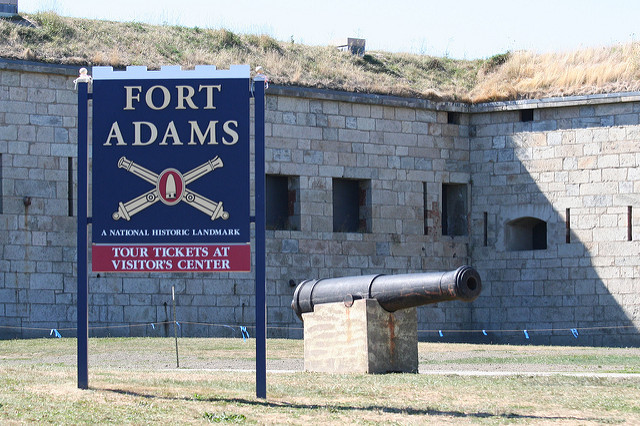 4. Fort Adams, Newport