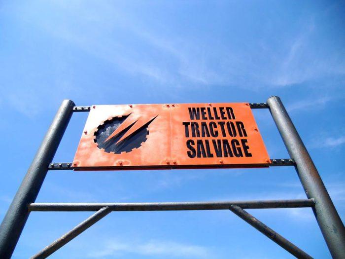 Since 1962, Weller Tractor Salvage has been Kansas's premiere tractor salvage yard, housing Caterpillar, Case, and John Deere parts.
