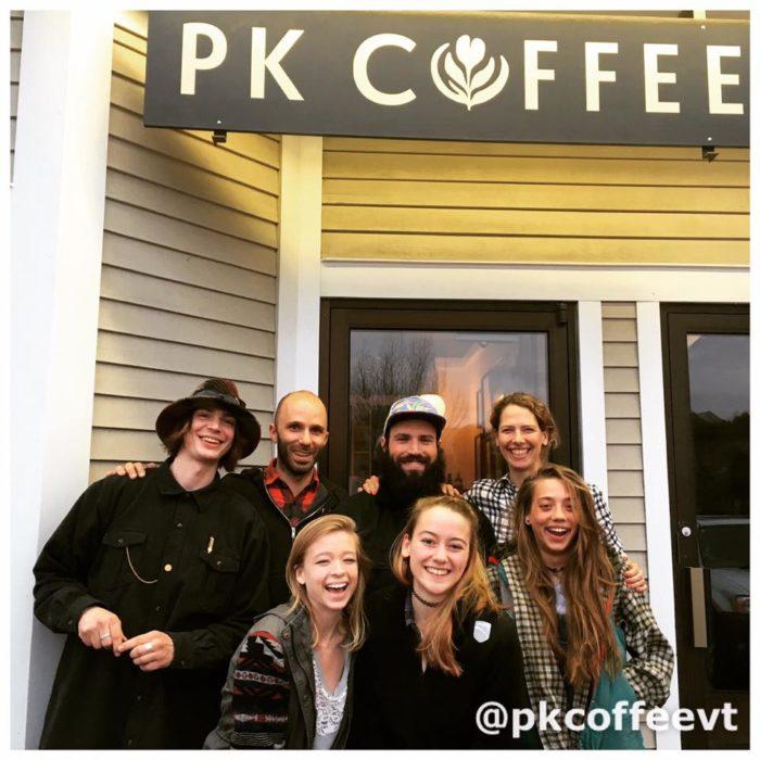 10.  PK Coffee - 1880 Mountain Road, Stowe