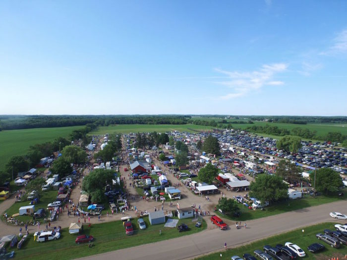 The Wright County Swappers Meet is one of the largest flea markets in the state.