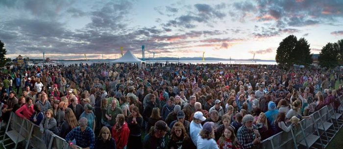 2.  Grace Potter's Grand Point North, Sept. 17 - 18