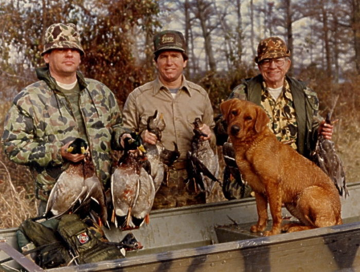 5. Duck hunting anywhere else just isn't the same.