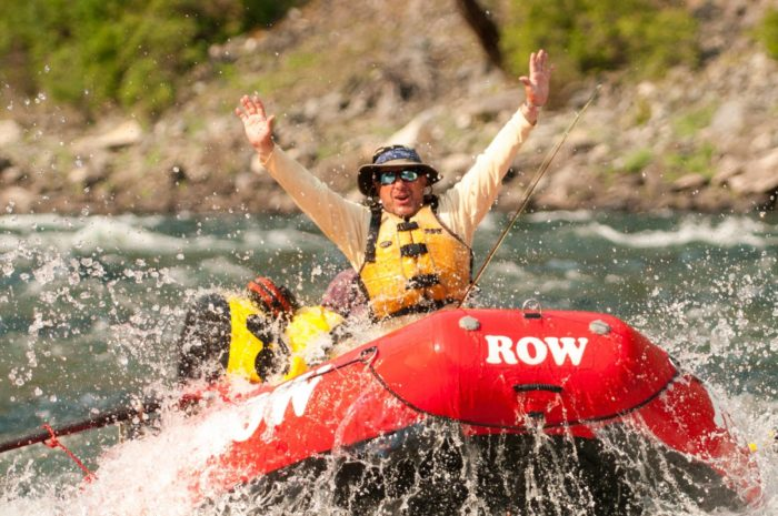 Activities at the lodge include whitewater rafting guided tours.