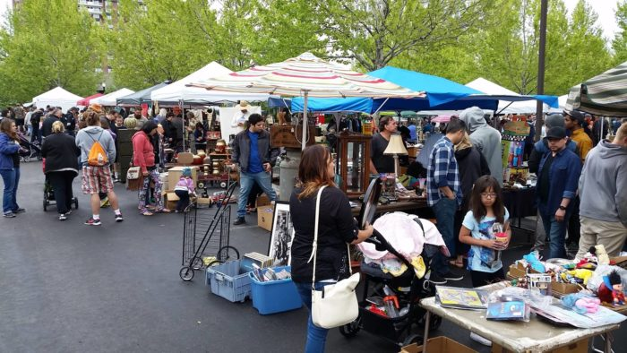 The last Urban Flea Market of the summer is scheduled for Sunday, October 9th from 9:00 a.m. to 3:00 p.m. It's located at 600 S. Main Street in Salt Lake City. Don't miss it!