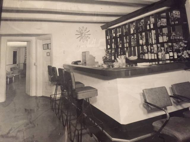 The bar that was located in the tunnel.
