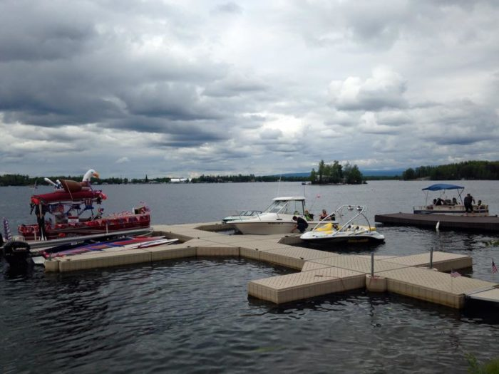 Come visit by car or boat.