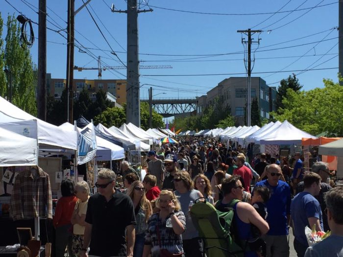 The market is open from 10:00 a.m. to 5:00 p.m.. Get there early - some of the best finds get snatched up quickly!