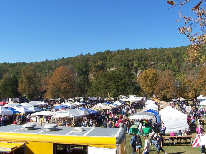 7. Robbers Cave Fall Festival, Wilburton (October 14 - 16, 2016)
