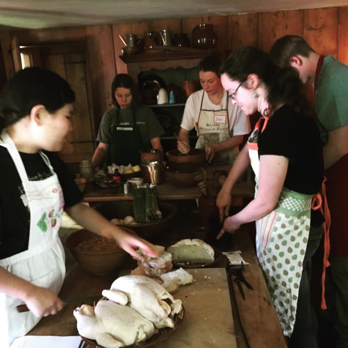 Try your hand at open-hearth cooking and whip up some delicious authentic eats.
