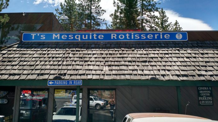 12. T's Mesquite Rotisserie, Incline Village