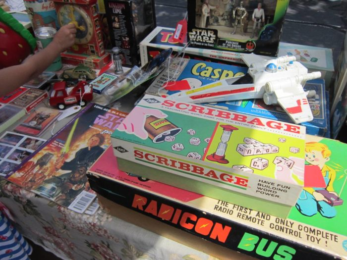 Vintage games, toys and comics might make you nostalgic for your childhood.