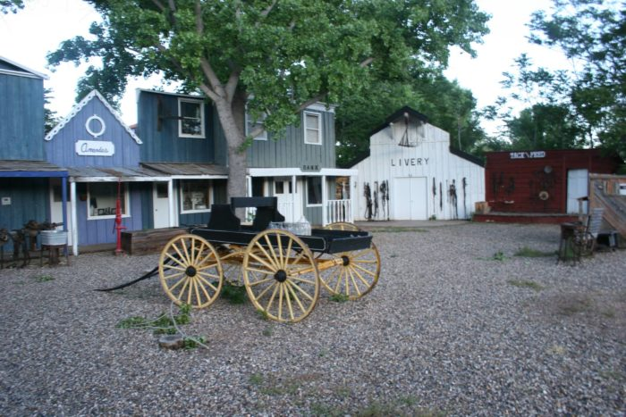 Visit the Little Hollywood Museum to learn about Kanab's history as THE place to film Westerns.