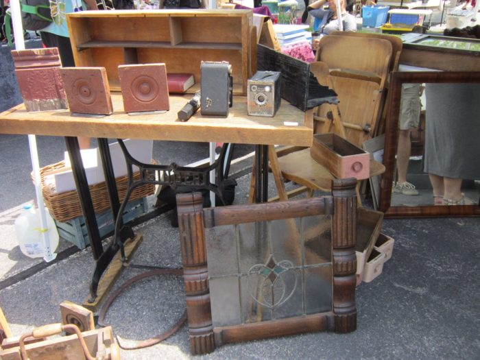 You can even find some cool architectural salvage pieces.