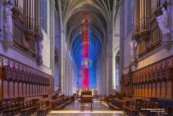 5. Grace Cathedral: 1100 California Street