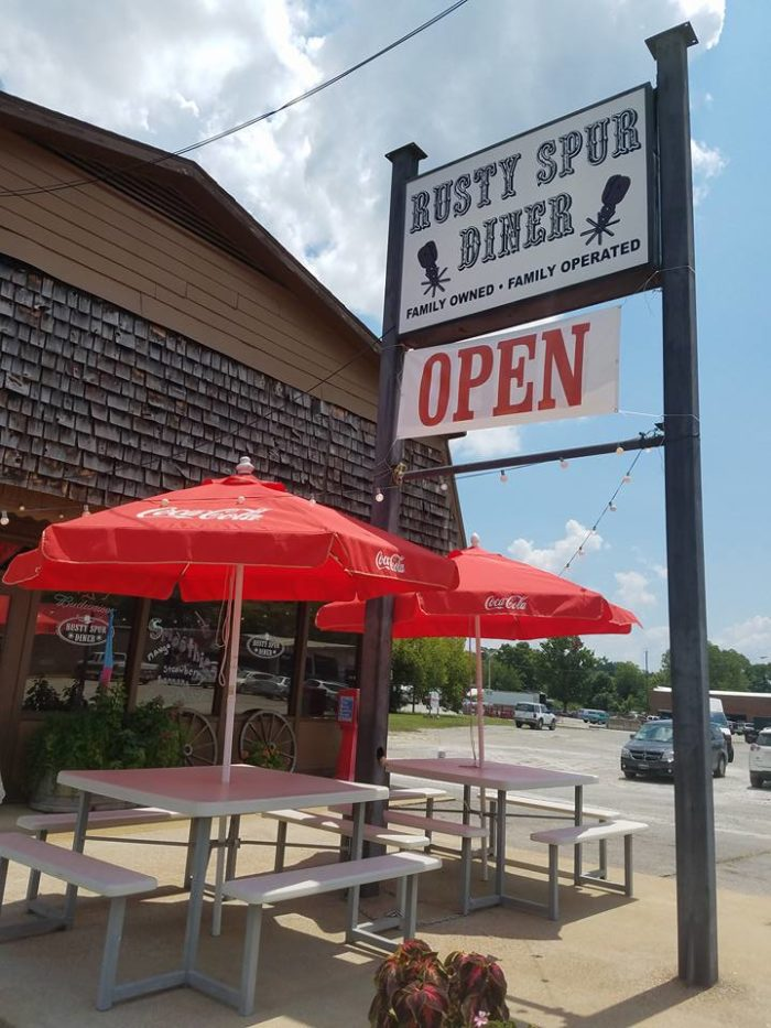 6. The Rusty Spur Diner - Pulaski