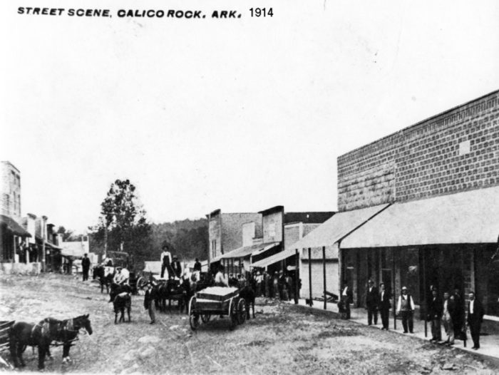 So the next time you're in East Calico Rock, if you dare, allow yourself to imagine it isn't just a nice little historic spot in a nice little Arkansas town. Imagine it as it was.