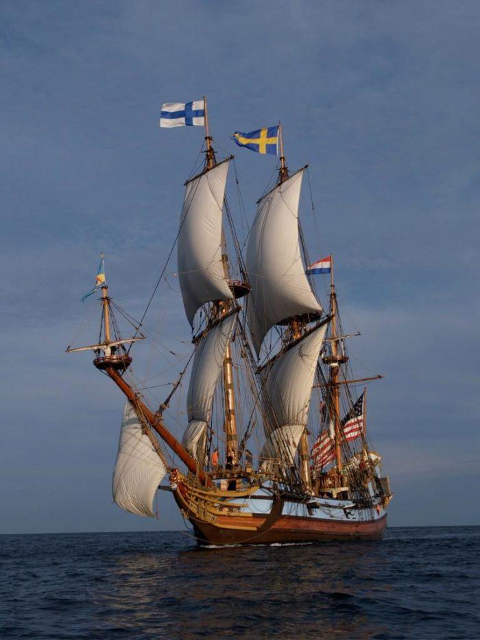 7. The Kalmar Nyckel