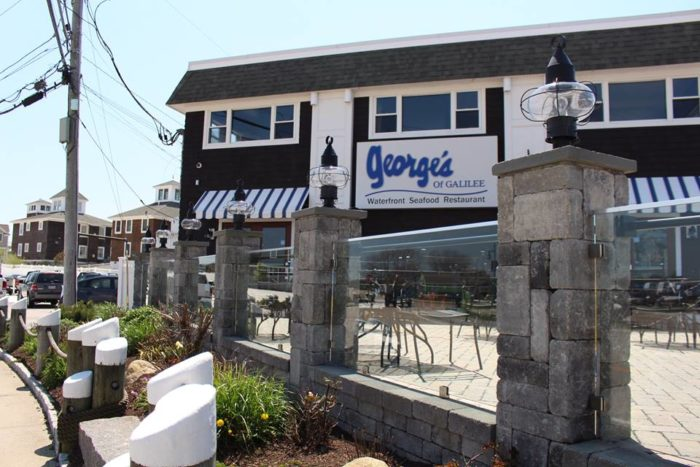 George's is one of a few restaurants in the village offering fresh seafood at very reasonable prices.
