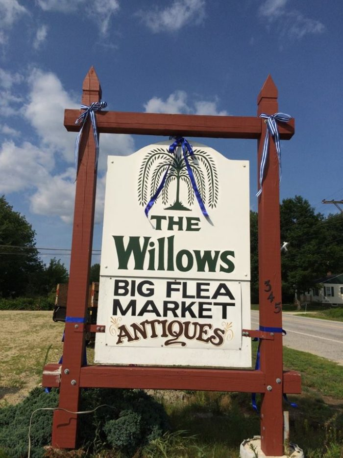 """The sign outside The Willows includes """"BIG FLEA MARKET"""" in large block letters and after one trip inside, you'll understand why."""