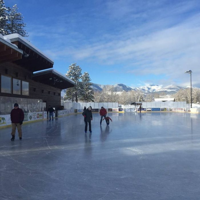 4. Go ice skating at the Winthrop Ice & Sports Rink all winter…