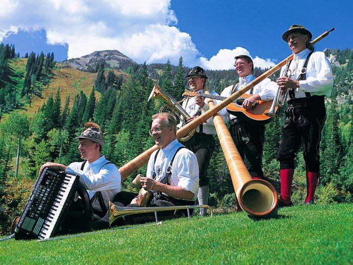 1. Utah's ski resorts have great festivals.