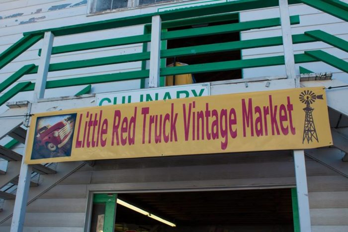 Twice a year, the Little Red Truck Vintage Market takes over the Missoula County Fairgrounds for two days.