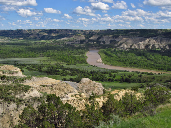 10. Experience the beautiful badlands created by the Little Missouri River