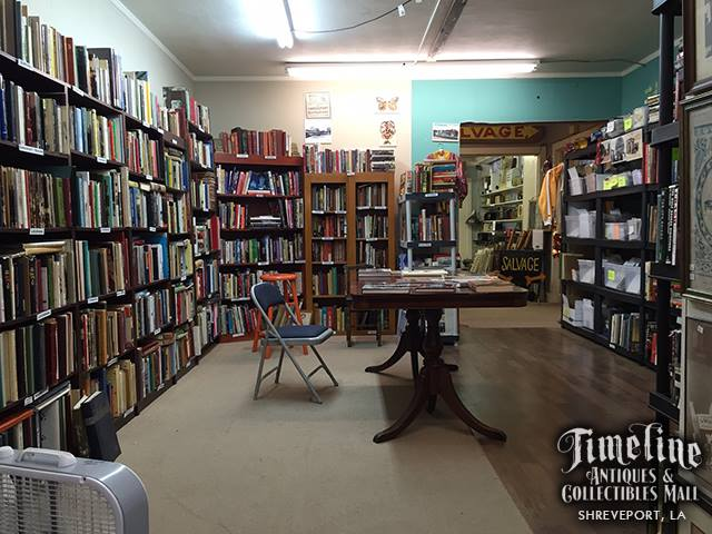 Timeline is also unique for their book collection--it's as big as a regular book store.