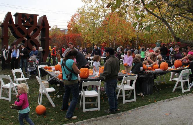 10. The Fall Family Festival at Farnsworth Art Museum - October 15th