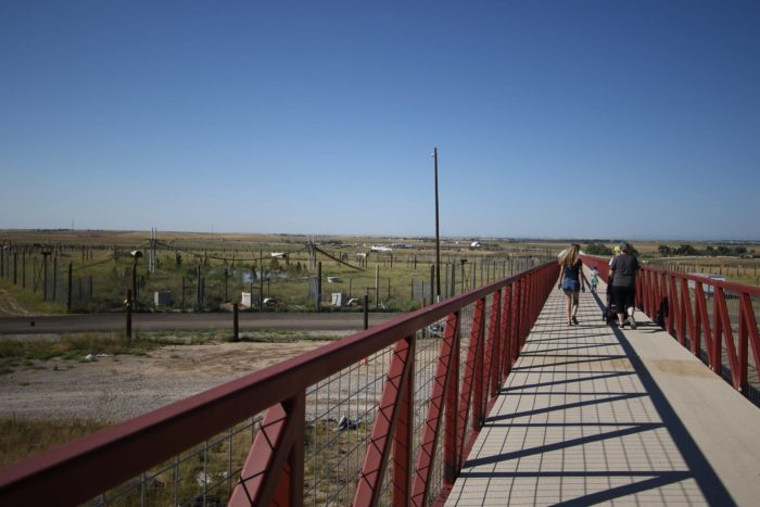 They also extended the elevated walkway by half a mile, across 400 acres of new habitats.