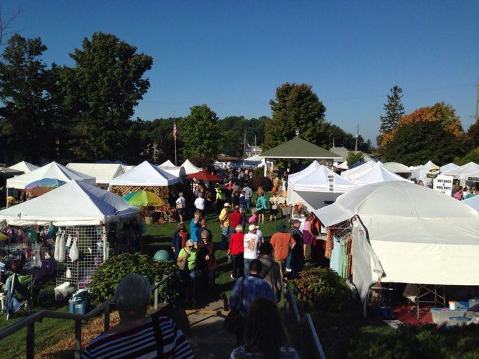 4. Fall Fest Art & Craft Fair (September 24-25th, Pentwater)