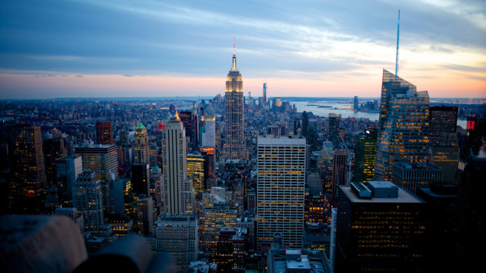10. Make your way to the Top of the Rock in the heart of New York City.