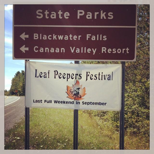 1. Leaf Peeper's Festival - September 23-25th