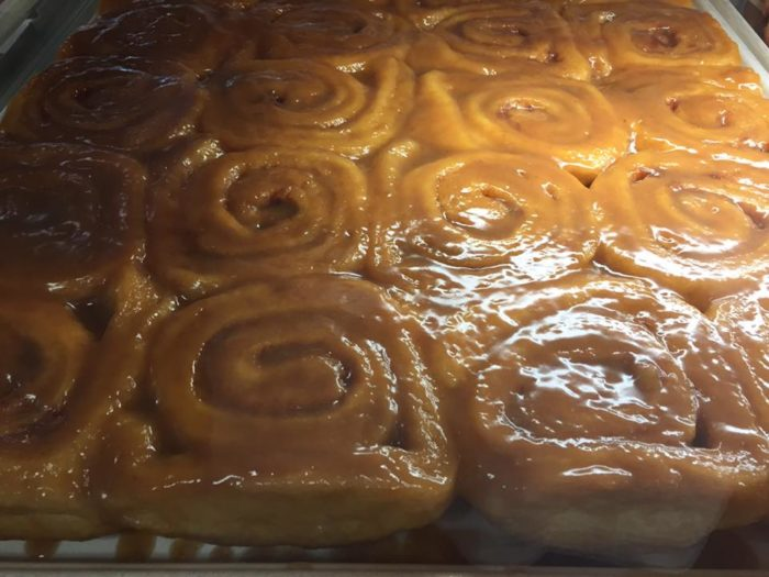 And I'll just let these Bread Pan Bakery caramel rolls speak for themselves...