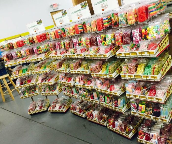 They have a wide selection of old-fashioned candy as well.