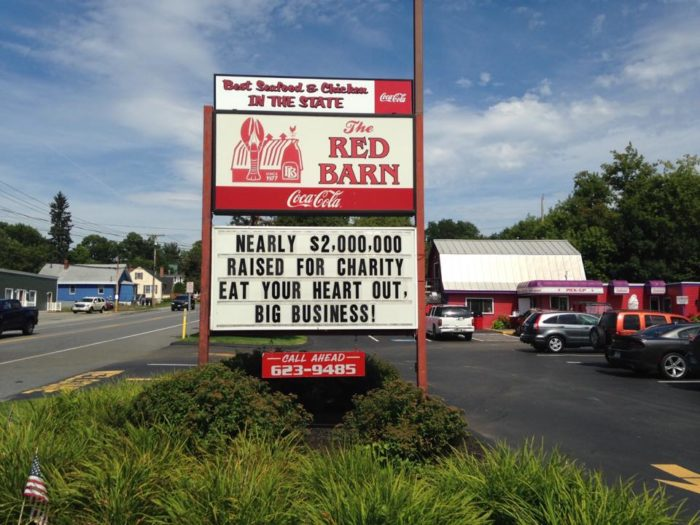 3. The Red Barn, Augusta