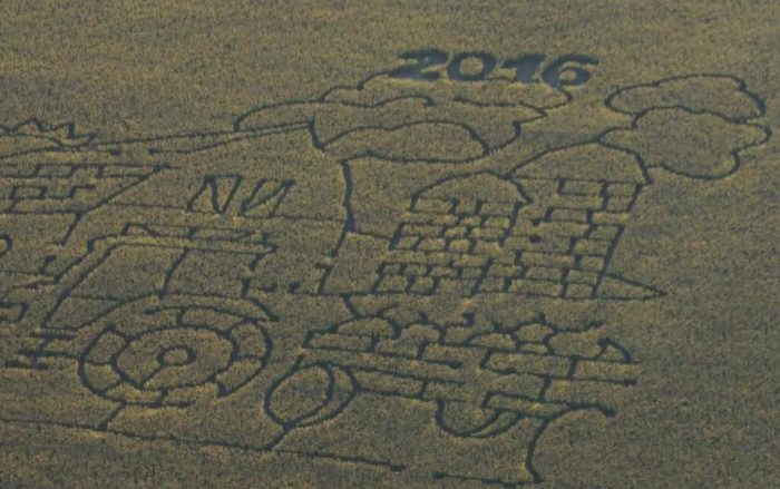 4. Maddock Rural Renaissance Festival & Corn Maze - Maddock