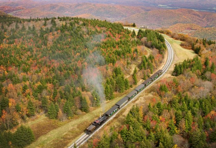 This 4.5 hour round trip will show you some of the most beautiful foliage in West Virginia.