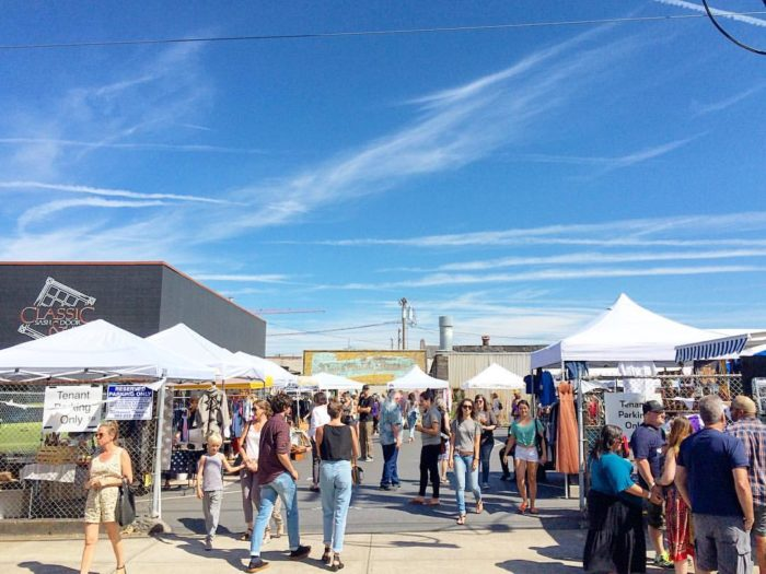 This fantastic monthly flea market is a great way to have some fun AND shop local.