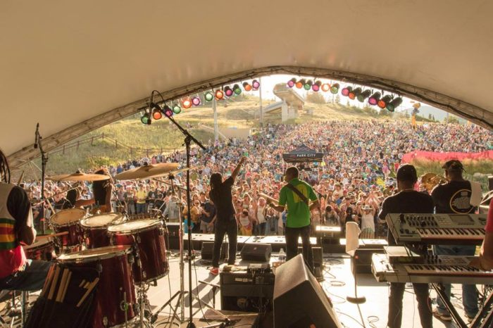 10. Summer concerts are magical in the mountains.