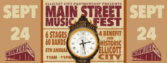 10. Main Street Music Fest, Sept 24th